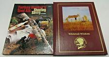 Turkey Hunter's Tool Kit : Shooting Savvy Book LOT Whitetail Wisdom Hunting Club