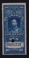 Canada VD #FSC14a (1915) 10c King George V SUPREME COURT Law Revenue VF Used
