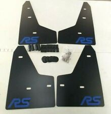 SALE [SR] 2016+ Ford FOCUS RS Mud Guard Flaps Set BLACK w/ Logo & Hardware Kit