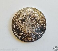 1780 YEAR EMPRESS MARIA THERESA SILVER THALER COIN PERFECT REAL PRICE $1000+