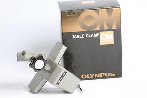 Olympus OM Table Clamp mit OVP