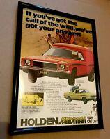 Vintage Kingswood HZ Sandman GTS HK HT HG HQ HX Holden Dealer Monaro Bathurst V8