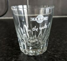 Martini on the Rocks Tumbler, Real Nice Shape, Home Bar, Pub, Man Cave, Vintage