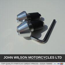 Honda VTR1000 SP1 SP2 Silver Aluminium Handlebar Bar End Weight Sliders