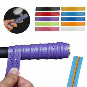 Absorb Sweat Racket Anti-slip Tape Handle Grip For Tennis  Badminton Squash Ban