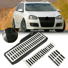 New Sports Fuel Brake Foot Rest AT Pedals Pads For VW Jetta MK6 Beetle 2007-2013
