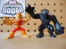 Hasbro Marvel Super Hero Squad COMPLETE Wave 4 PUMA & VENOM