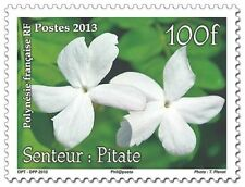 polynesia ca 2013 polynesie Senteur Pitate - scent flowers nature 1v mnh **