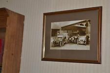 Vintage Car Poto 'De Dietrich, Rolls Royce Silver Ghost, Darracq' c1910  [P3271]