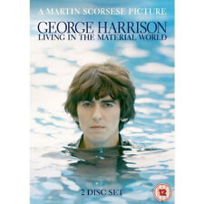 GEORGE HARRISON LIVING IN THE MATERIAL WORLD MARTIN SCORSESE 2 DISC UK DVD L NEW