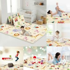 Non Slip Double Side Eve Play Mat Baby Infant Crawling Mat Yoga Pad Cushion Int