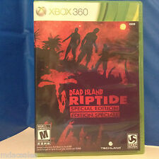 """Used """"DEAD ISLAND - RIPTIDE SPECIAL EDITION"""" for XBOX 360"""
