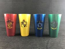 Wizarding World of Harry Potter House Tumbler Cup Set 4 Cups, Universal Studios