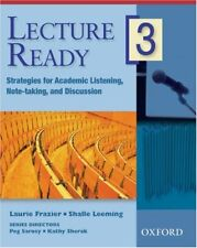 Lecture Ready 3 Student Book: Strategies for Acade