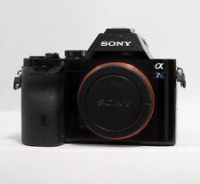 Sony Alpha a7S 12.2 MP Digital SLR Camera - only 204 shutter clicks!