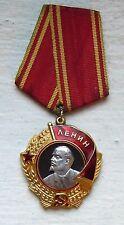 """Authentic, 1950's """"Order Of Lenin"""" 23K Gold Award Medal #226187, 1.05 Oz Troy"""