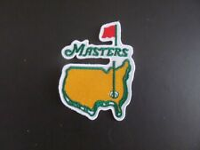 """""""THE MASTERS GOLF HISTORY"""" EMBROIDERED IRON ON 2-1/2 X 3-1/2 PATCH #B"""