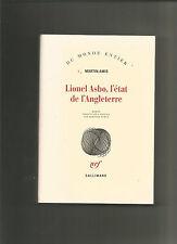Lionel Asbo  l'Etat de l'Angleterre Amis  Martin Occasion Livre