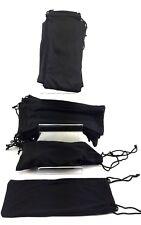 50 pcs whole sale job lots bulk soft black protection pouches for sunglasses uk