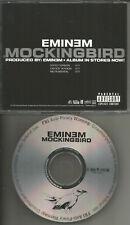EMINEM Mockingbird w/ RARE EDITED TRK & INSTRUMENTAL PROMO DJ CD single 2004