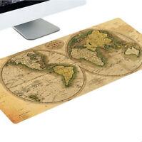 Non-slip Gaming Mousepad Large Mouse Pad Edge-locked Office Desk Keyboard Mat