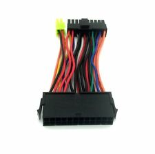 24 Pin ATX Female to 20/24 Pin Switchable Male Power Supply Cable Cord Extender