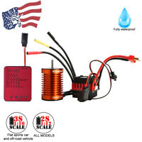 Electric Machinery Fully Waterproof Brushless Motor For RC Racing Car Boat USA