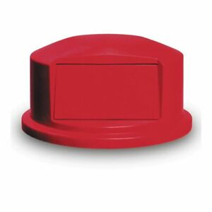 Rubbermaid FG264788RED BRUTE Red Dome Top for 44 Gallon Containers