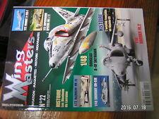 µ!? Revue Wing Masters n°22 Aviation française en Algerie Blenheim MK IV Harrier