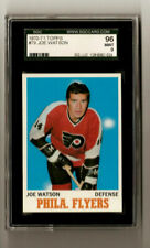 Joe Watson 1970 Topps #79 Hockey Card SGC 9 Mint POP:1 Philadelphia Flyers