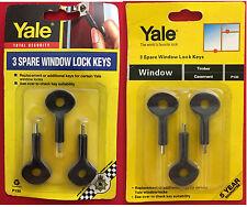 YALE P130 SPARE WINDOW LOCK KEYS HEXAGON (HEX) KEY - PACK OF 3