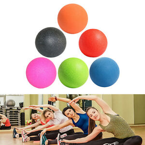 Lacrosse Ball Mobility Myofascial Trigger Point Release Body Massage Ball  B`ZY
