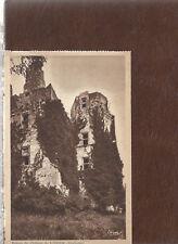 Ruines du Chateau L'Herm  France  Unused Heliogravure Postcard 81619