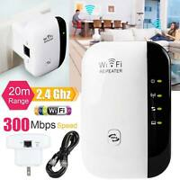 WiFi Blast Wireless Repeater Wi-Fi Range Extender 300Mbps Amplifier Booster