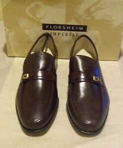New Florsheim Imperial Como 13 B burgundy (2543)