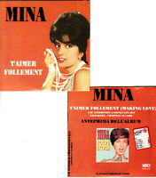 MINA. T'Aimer Follement. CDs PROMO