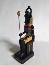 KHEPRI Figura Dios Antiguo Egipto 10-15 cms Resina pintado mano Faraón Pharaoh