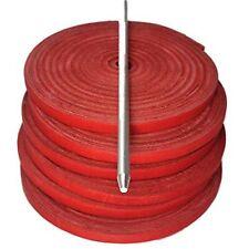 TOFL Baseball Mitt, Softball Glove Repair Lacing Kit, 6 Red Laces & Needle......