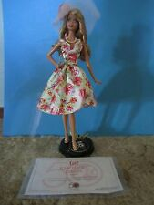 KENTUCKY DERBY BARBIE DOLL ~~ 50th Anniversary with stand and COA ~~ NO BOX