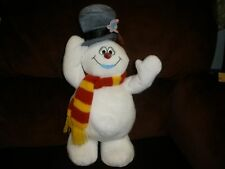Hallmark SINGING FROSTY THE SNOWMAN Stuffed Plush SOFT TOY Dancing HAT HANG TAG