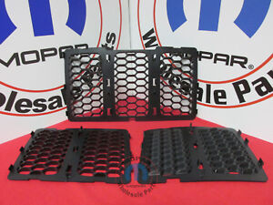 JEEP GRAND CHEROKEE Black Honeycomb Grille Inserts NEW OEM MOPAR