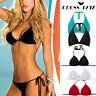 Women Bandage Push-Up Padded Bra Top Bikini Set Swimsuit Bathing Suit Swimwear V