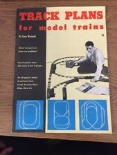 Track Plans for Model Trains by Linn Westcott> Published 1956