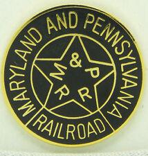 Railroad Hat-Lapel Pin/Tac -Maryland and Pennsylvania RR (Ma & Pa)  #1723 -NEW