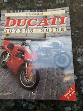 ILLUSTRATED DUCATI BUYERS GUIDE MICK WALKER 1994 DESMO MONSTER 916