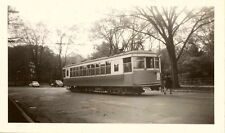 7E900D RP 1941 KNOXVILLE TRACTION CO STREET RAILWAY CAR #362 KNOXVILLE TN