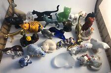 Franklin Mint Curio Cat Lot Of 27 Figurines
