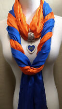 The Ultimate Florida Gators  Licensed   Jewelry Scarf Combo