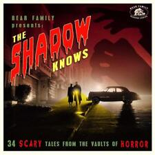 Various Artists The Shadow Knows CD 2018 New Sealed Halloween Horror Rock n Roll