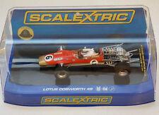 Scalextric C3311 Lotus Cosworth 49 #6 Jim Clark 1968 Gold Leaf Slot Car 1/32